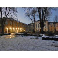 Монтаж на LED Прожектори - Априловска гимназия - гр.Габрово
