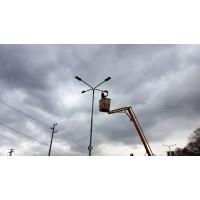 Доставка и монтаж на улично осветление - частен имот - гр.Севлиево