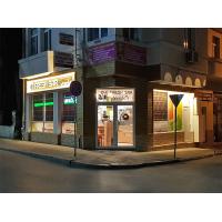Дизайн, проектиране, доставка и монтаж на интериорно осветление. Производство на светеща реклама - Фреш бар Verde - гр.Габрово