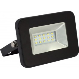 10W LED Floodlight Black Body White