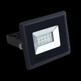 10W LED Прожектор E-Series Черно Тяло Топло Бяла Светлина