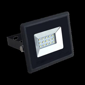 10W LED Прожектор E-Series Черно Тяло Бяла Светлина