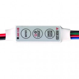 Mини контролер за RGB LED лента, 72W
