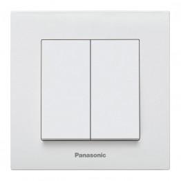 Panasonic Каре Плюс Бяло Ключ сх.5 Двоен