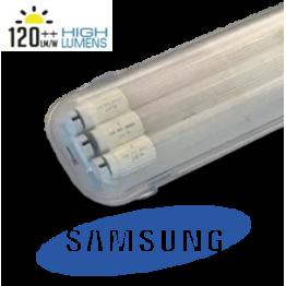 Тяло IP 65 с 1х1200мм ЛЕД пура SAMSUNG 18W G13 5год. Гаранция