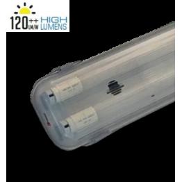 Преработка на Тяло с 2х1500мм LED пура T8 22W A++ HIGH LUMEN 3 г. гаранция