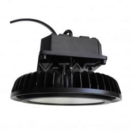 500W LED Камбана с Meanwell Димируем Драйвер Черно Тяло Бяла Светлина
