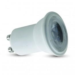 LED Крушка - 2W GU10 ф30 220V Пластик 6000K