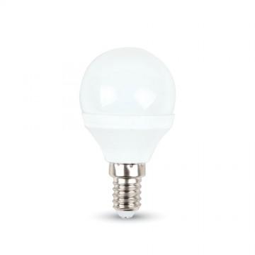 LED Крушка - 3W E14 P45 Неутрално Бяла Светлина
