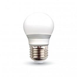 LED Крушка - 3W E27 G45 Топло Бяла Светлина