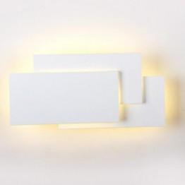 12W LED Стенна Лампа Сиво Тяло IP20 Неутрално Бяла Светлина