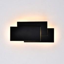 12W LED Стенна Лампа Черно Тяло IP20 Неутрално Бяла Светлина