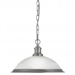 Пендел Bistro 1591Ss Изработен От  Метал и Стъкло