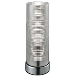 Дизайнерска Настолна Лампа Jaron Изработена От  Метал и Стъкло