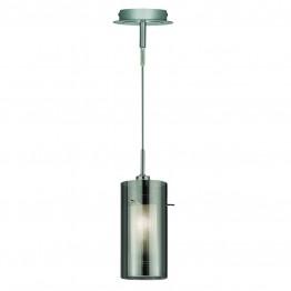 Пендел Duo Ii За интериорно Осветление Изработен От  Метал и Стъкло