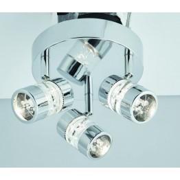 Влагозащитен LED Спот Bubbles Изработен От  Метал и Акрил