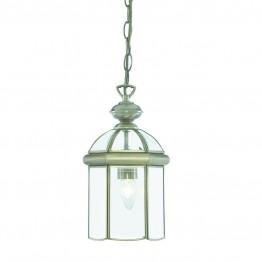 Пендел Тип Фенер Lanterns С Винтидж Дизайн Изработен От  Метал и Стъкло