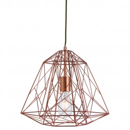 Пендел Geometric Cage 7271Cu Изработен От  Метал