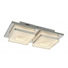 Аплик с SMD-LED модул DOMINO Изработен от  Метал и акрил