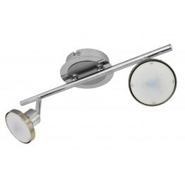 LED спот с Изчистен дИзайн WAVER Изработен от  Метал и акрил