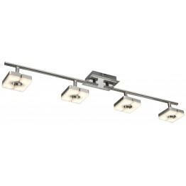 Спот с SMD-LED модул плафон SQUARE Изработен от  Метал и акрил