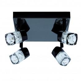 Спот Blocs За интериорно Осветление Изработен От  Метал и Стъкло