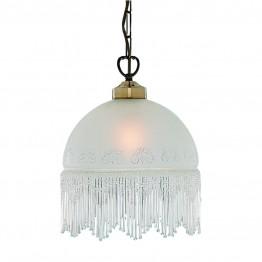 Пендел Victoriana С Винтидж Дизайн Изработен От  Метал и Стъкло