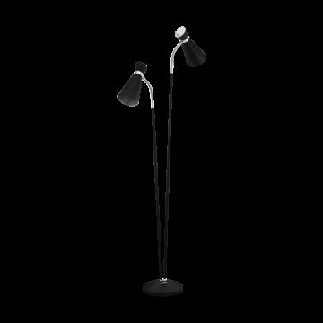 SARDINARA 39399eglo лампион от стомана - черен, сив