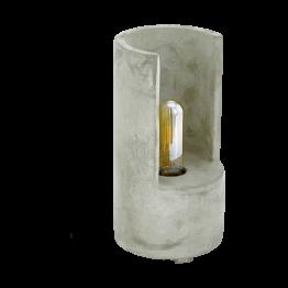 LYNTON 49111eglo настолна лампа от бетон - сиво