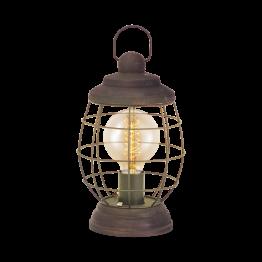 BAMPTON 49288eglo настолна лампа от стомана - кафяв