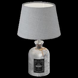 MOJADA 49667eglo настолна лампа от стъкло - сребърен