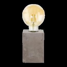 PRESTWICK 49812eglo настолна лампа от керамика - сиво