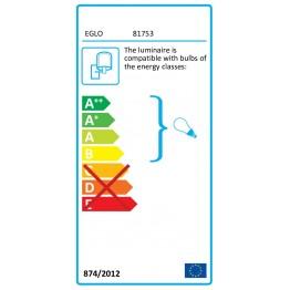 HELSINKI 81753eglo аплик от стомана -