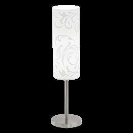 AMADORA 90051eglo настолна лампа от стомана - сатен