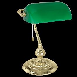 BANKER 90967eglo настолна лампа от стомана - месинг