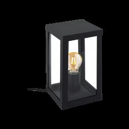 ALAMONTE 1 94789eglo настолна лампа от поцинкована стомана - черен