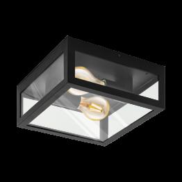 ALAMONTE 1 94832eglo аплик от поцинкована стомана - черен