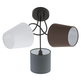 ALMEIDA 95192eglo плафон от стомана - черен