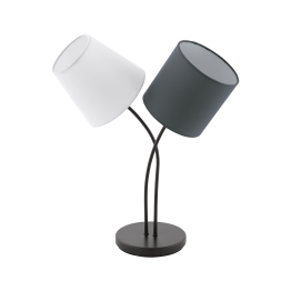 ALMEIDA 95194eglo настолна лампа от стомана - черен