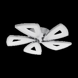 AMONDE 95221eglo плафон от отлят алуминий - сив