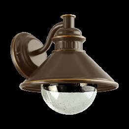ALBACETE 96262eglo аплик от поцинкована стомана - кафяв, мед