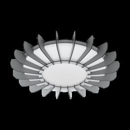ARAPILES 98262eglo аплик от стомана - бял