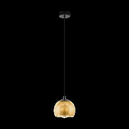 ALBARACCIN 98524eglo пендел от стомана - черен/златен