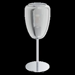 ALOBRASE 98618eglo настолна лампа от стомана - сив