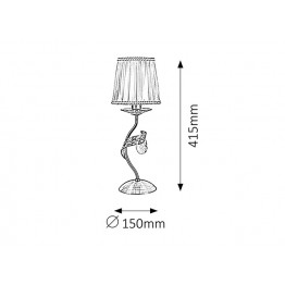 Настолна лампа Claudia 7280rab