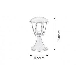 8W LED Градинска лампа Sorrento 8127rab