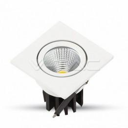 3W LED Луна COB Квадратен Модул - Бяло Тяло Топло Бяла Светлина