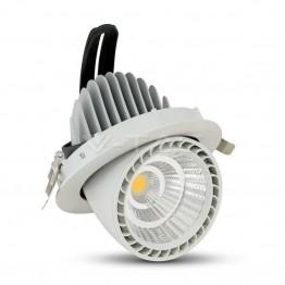 33W LED Луна Кръгла 4500К/Неутрално Бяла Светлина