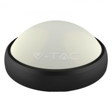 12W LED Овално Тяло Външен Монтаж Черно Тяло IP65 Топло Бяла Светлина