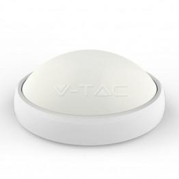 12W LED Овално Тяло Външен Монтаж Бяло Тяло IP54 Топло Бяла Светлина